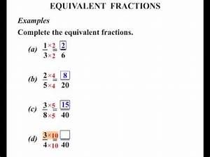 6th Grade: Equivalent Fractions - YouTube