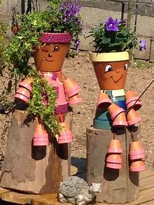 Pot De Fleur En Terre Cuite : fabriquer avec des pots en terre cuite decoration de ~ Premium-room.com Idées de Décoration