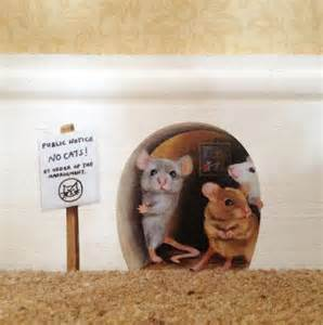 Mice In Bathroom these mice are holding a tentative protest against the