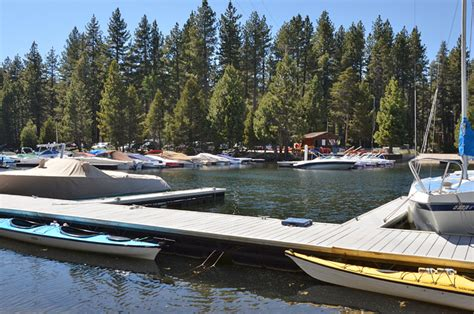 Boat Slip South Lake Tahoe by Meeks Bay Marina Lake Tahoe Guide
