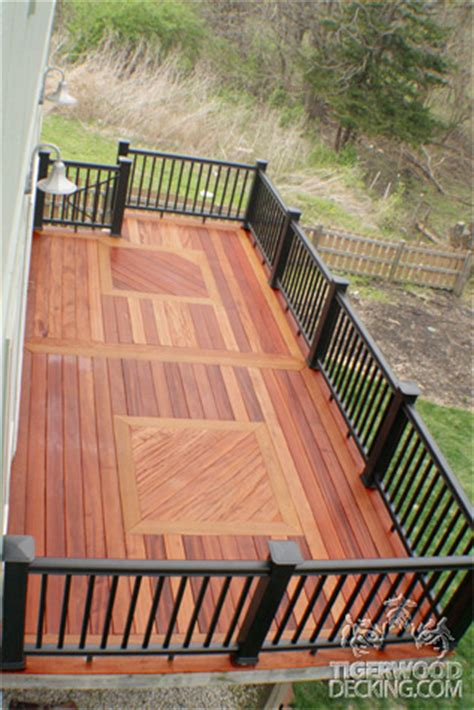tigerwood decking pictures tiger wood deck