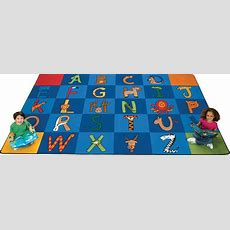 A To Z Animals Rug  Carpets For Kids Alphabet & Animal Rug