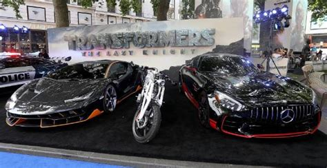 lamborghini transformer the last knight lamborghini centenario shines at premiere of transformers