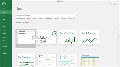 create a new workbook in excel instructions and video lesson
