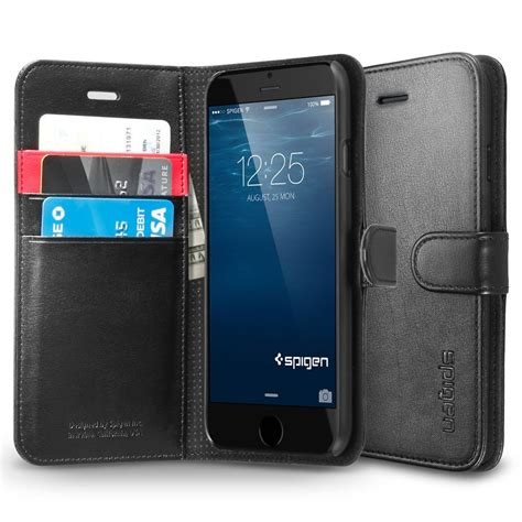 iphone 6 plus wallets spigen wallet s for iphone 6 plus 5 5 quot ebay