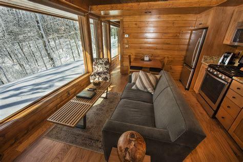 escape the cabin a park model rv that looks like an escape cabin