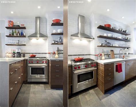 cuisine avec etagere rénovation cuisine et salle de bains photos avant après