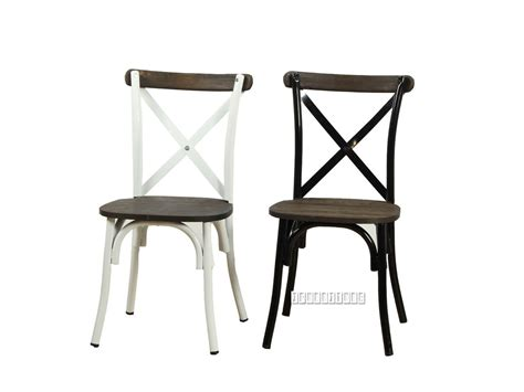 cross back chair dining room table hanover metal cross back chair solid elm seat dining