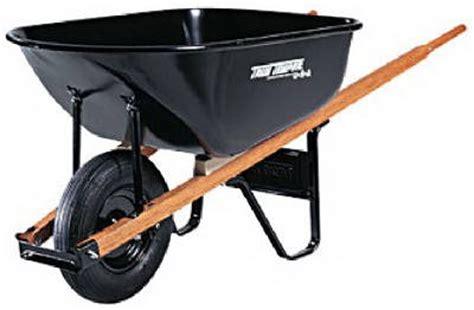 wheelbarrow  garden carts choosing   tool