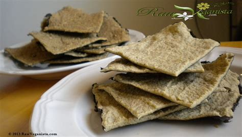 Savoury Nori Crackers - The Raw Veganista