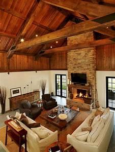 Rustic, Cabin, Interior, Ideas, 1, U2013, Decoredo