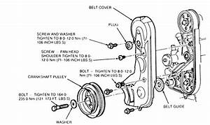 Details On How To Change Timing Belt On 1994 2 3l Ford Ranger  No Distributor On This Engine