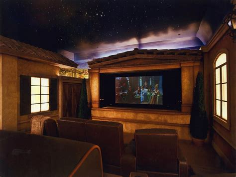 10 Unique Home Theater Themes  Home Remodeling Ideas
