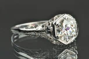 edwardian engagement ring 1 carat edwardian style solitaire engagement ring from timelessantiques on ruby