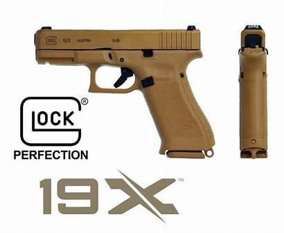 Glock 19x 9mm Coyote Comparison Pistol Pros