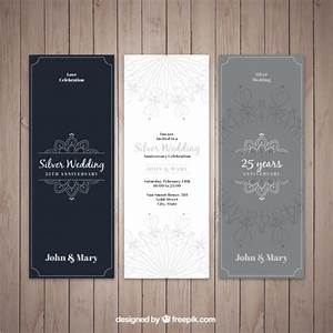 elegant silver wedding invitations vector free download With elegant wedding invitations eps