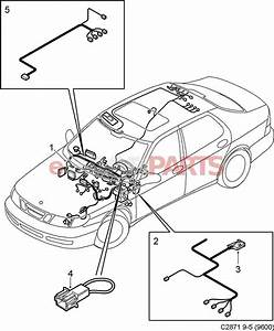 12778882  Saab Dashboard Wiring Harness
