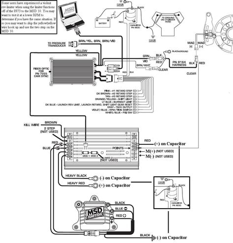 Msd Wiring Diagram Schematic by 8973 To Msd 10 Msd