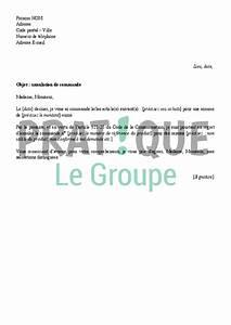 Droit De Rétractation Achat Voiture : lettre d 39 annulation d 39 une commande ~ Gottalentnigeria.com Avis de Voitures