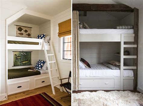 Small Space Solution Builtin Bunk Beds For Kids' Rooms