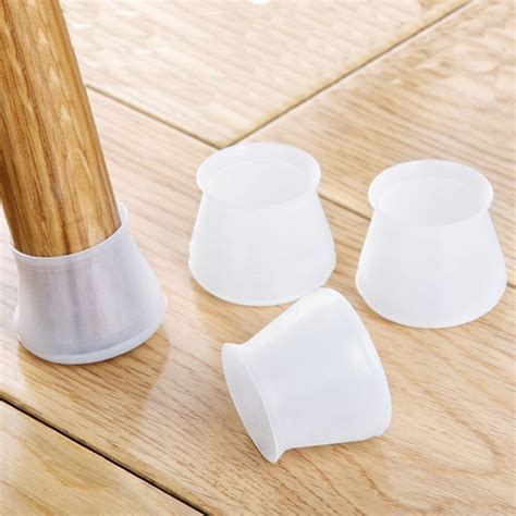 pcs furniture table covers socks silicone chair leg caps