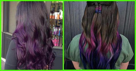 20 Breathtaking Purple Ombre Hair Color Ideas