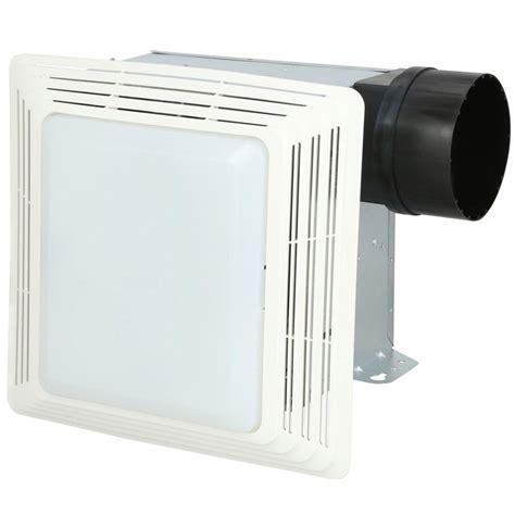 Home Depot Bathroom Exhaust Fan by Broan 50 Cfm Ceiling Bathroom Exhaust Fan With Light 678