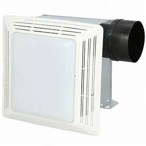 Broan 50 Cfm Ceiling Bathroom Exhaust Fan With Light-678