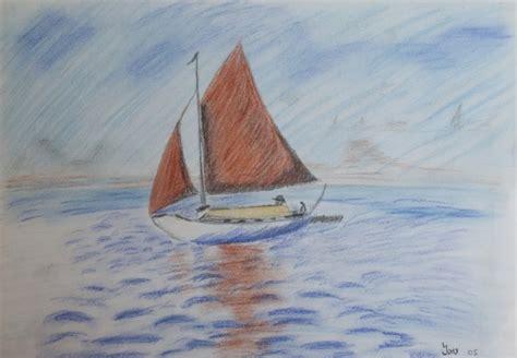 Zeiljacht Schilderen by Zeilboot 183 Tekeningen 183 Marjon De Jong