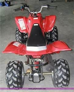 Baja 150cc Atv  Red