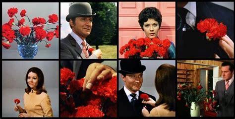 John Steed's fashion   Carnations