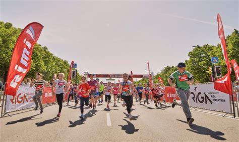 Tet Rīgas maratona Rimi Bērnu dienai jau reģistrējušies ...