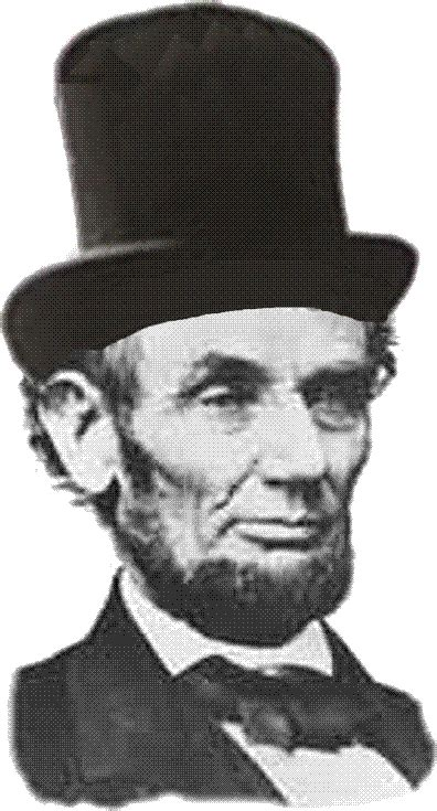 abraham lincoln with hat drawing church of february 17th what happened