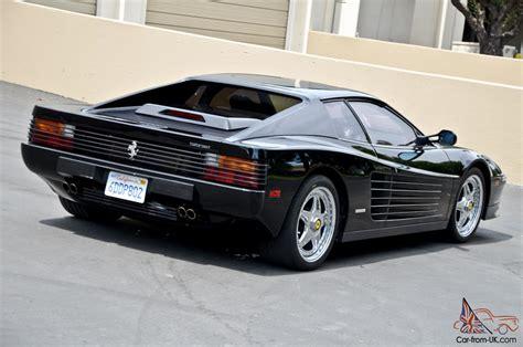 Black Testarossa by 1988 Testarossa Black 22k Brembo