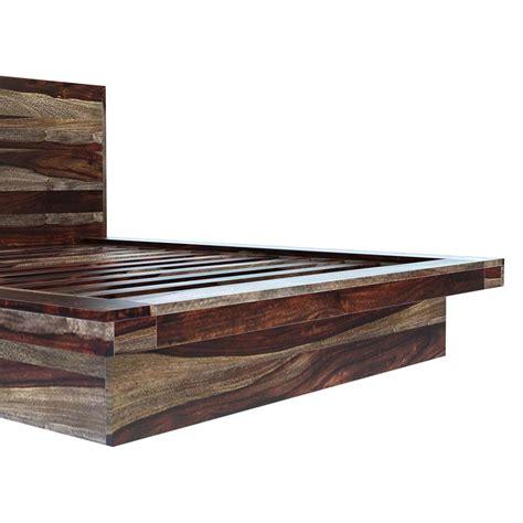 Virginia Modern Handcrafted Solid Wood Platform Bed