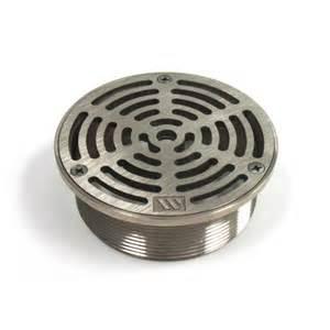 4 nickel bronze round floor drain strainer 171 bc site service