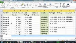 Excel datum um monate erhohen werkzeugliste youtube for Werkzeugliste excel
