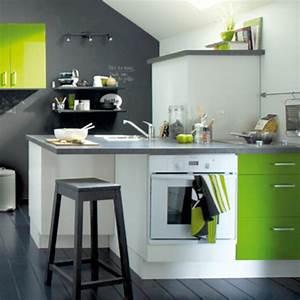 Couleur De Cuisine : quelle couleur pour mes meubles de cuisine c t maison ~ Voncanada.com Idées de Décoration