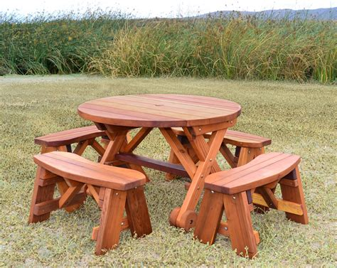 wooden picnic table with umbrella folding wood picnic table with umbrella designer tables