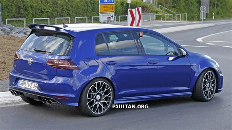 golf 7 r 400 spied volkswagen golf r 400 at the ring image 341133