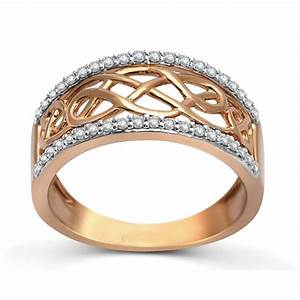 designer rose gold diamond wedding band ring for women With ladies wedding rings