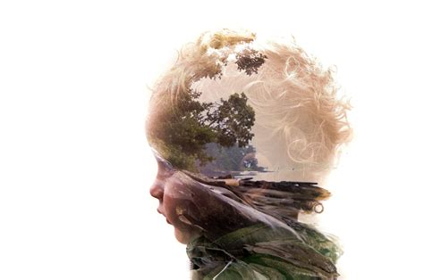 incredible examples  double exposure photography