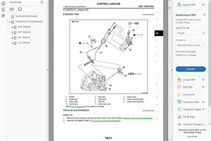 Factory Workshop Service Repair Manual For Nissan X