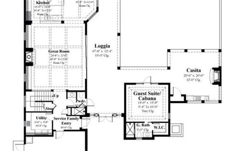 Small Tuscan Mediterranean House Plans Two Story Roof
