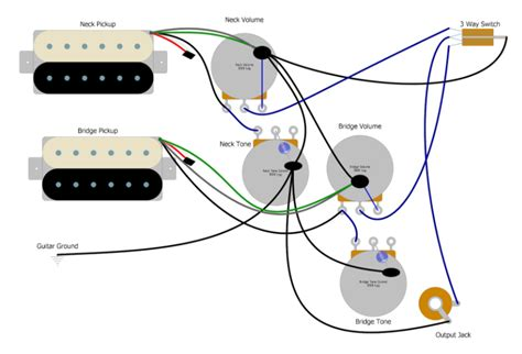 Les Paul Three Way Switch Wiring Basic Guitar