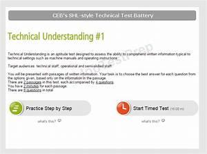 Shl Ttb - Shl Technical Test Battery