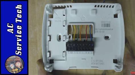 How Bypass Jump Heat Pump Thermostat Wiring