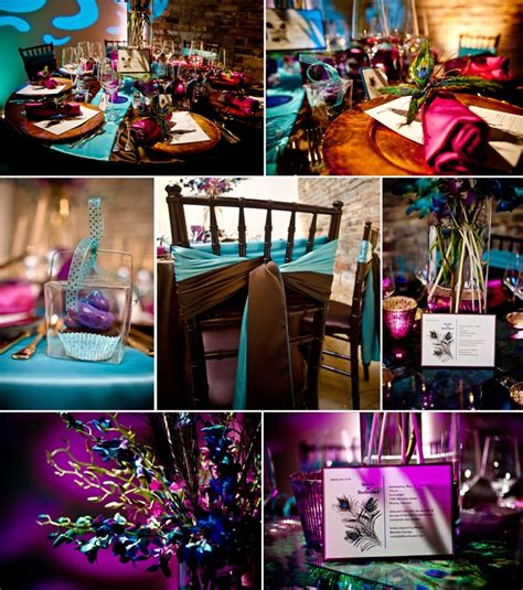 tbdress color your wedding with peacock themed wedding