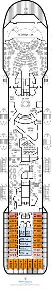 Prinsendam Deck Plans 2010 by Prinsendam Deck Plans Promenade Deck What S On