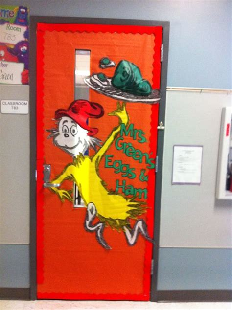 dr seuss door decorating contest ideas green eggs and ham door dr seuss hams green
